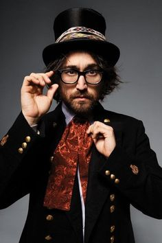 Sean Lennon literally like my new favorite person <3 gahh