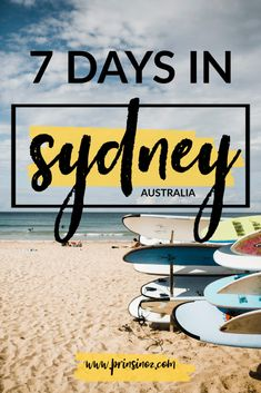 7 Day Itinerary for Sydney – Prins in Oz