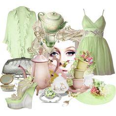Tea Anyone?, created by marie-guzik-mcauley on Polyvore