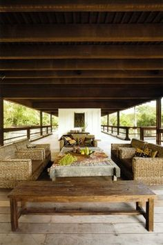 Itu0027s All Indonesian Furniture. Strang Residence (Rock House) Coconut Grove  Miami, Miami