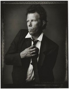 tom waits @ mark seliger -repinned by LA photography studio http://LinneaLenkus.com #portraiture