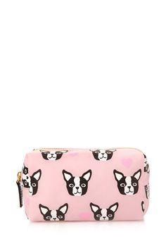 Boston Terrier Cosmetic Bag