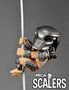 Figura Predator Scalers NECA, 5cm Depredador Nueva colección de figuras Scalers, de 5cm de altura, creadas por NECA, con los personajes más famosos de la ficción.
