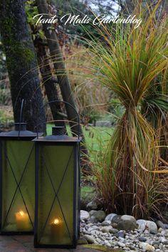 Laternen im Garten