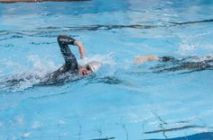 Does drafting save you time on your swim?