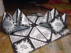 Using a paper fortune as an inexpensive promo item. image