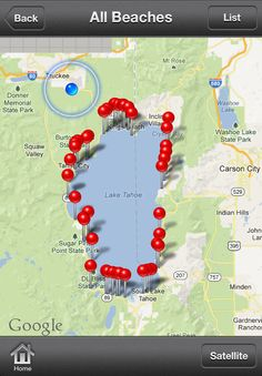 Search and discover Lake Tahoe's best public beaches on the North Shore, West Shore, South Shore and East Shore.