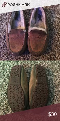 Ugg loafers Really pre loved uggs. Dirty but no holes and bottom is in great condition can probably be cleaned Shoes Slippers