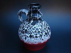Seventies Jopeko Fat lava vase vintage German by casa2casa on Etsy