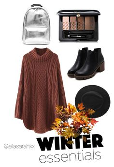 Winter Walks by ellasarahxx on Polyvore featuring polyvore, fashion, style, WithChic, Guerlain, Improvements and clothing