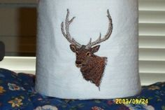 Embroidery Library Projects - Machine Embroidery Designs Inspired Project Page  Embroidered toilet paper