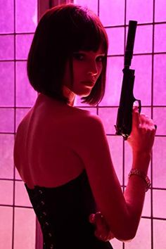 Anna - Movie stills and photos Gun Aesthetic, Badass Aesthetic, Bad Girl Aesthetic, Anna Movie, Fille Gangsta, Dibujos Tumblr A Color, Poses References, Female Poses, Girl Poses
