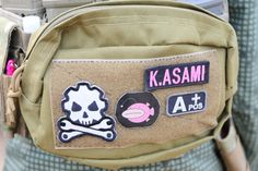 Airsoft player in Japan. Patch design