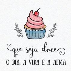 Doce dia! Lettering Tutorial, Hand Lettering, Cake Logo Design, Lessons Learned In Life, Decoupage Vintage, Happy B Day, Posca, Texts, Diy And Crafts