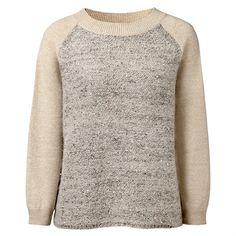 FALCONERI maglia in lana merino con paillettes