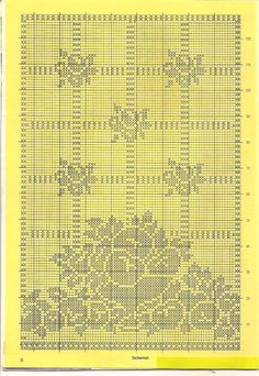 crochet a curtain