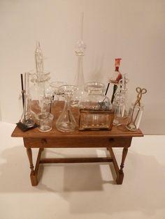 Ferenc Albert, IGMA fellow - glass chemistry set; sold on ebay for $275