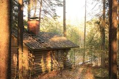 Sauna in Fall