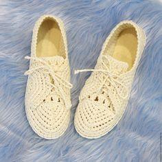 """Купить Мокасины льняные """"Light"""" - белый, мокасины, мокасины женские, льняная обувь, обувь летняя"""