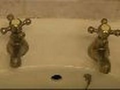 http://www.ultimatehandyman.co.uk/forum1/ shows how to replace old basin taps with a new pair. This video also shows how to use split click centralising wash...