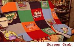 Recycled T-shirt Quilt(featured on Creative Juice episode 113 - Wardrobe Revival) It is time to chop up last years t-shirts and stitch up a fun recycled T-shirt. Kids and grown-ups love seeing all ...