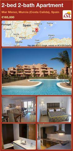 2-bed 2-bath Apartment in Mar Menor, Murcia (Costa Calida), Spain ►€165,000 #PropertyForSaleInSpain