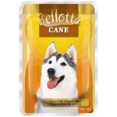Bellotta Dog Food Chicken Chunk and Vegetable in Gravy 100 Grams -- You can click image for more details. (This is an affiliate link and I receive a commission for the sales)