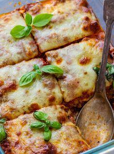 Tuna and Zucchini Lasagna - WW Recipe - Main Course -, Ww Recipes, Seafood Recipes, Healthy Recipes, Plats Weight Watchers, Best Diner, Zucchini Lasagna, Cordon Bleu, Food Pictures, Meal Prep