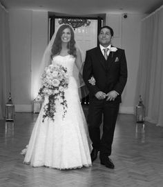 Giovanna And Tom Fletcher's wedding day. I love her dress, I love her hair, I love everything about this.... PERFECTION!!