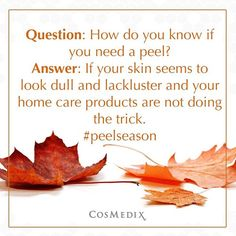 """@cosmedix_'s photo: """"Are you ready for #peelseason? #CosMedix is here for your…"""
