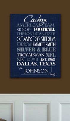 Dallas Cowboys Ready to Hang Standout by SportingStandouts on Etsy, $60.00
