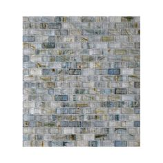 American Olean 2-in x 4-in Visionaire Whispering Stream Glass Wall Tile