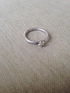 Min første ring / my first ring One Ring, Silver Rings, Jewelry, Jewlery, Jewerly, Schmuck, Jewels, Jewelery, Fine Jewelry