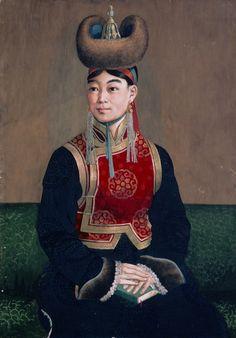 Mongolian lady  Creator name Sengetsokhio.A  Ulaanbaatar