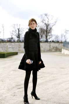 chic french women clothes   Profitez d'un peu de style français dans les rues de Paris ;)