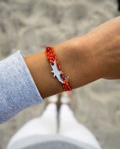 the @capeclasp shark bracelet /// 15% of profits support the Atlantic White Shark Conservation