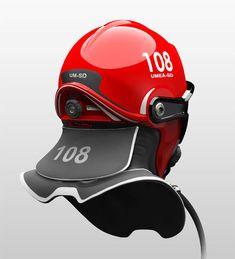 C-Thru Helmet, firefighters, smoke, futuristic look