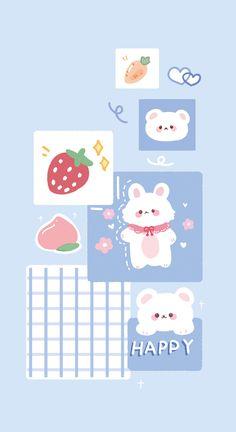 Cute Pastel Wallpaper, Soft Wallpaper, Cute Patterns Wallpaper, Bear Wallpaper, Aesthetic Pastel Wallpaper, Cute Anime Wallpaper, Wallpaper Iphone Cute, Galaxy Wallpaper, Cute Pastel Background
