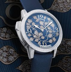 The Jaeger-LeCoultre Rendez-Vous Ivy Minute Repeater ladies' watch combines mechanics, aesthetics, luxury, & poetry even men can appreciate. High End Watches, Fine Watches, Cool Watches, Watches For Men, Ladies Watches, Most Popular Watches, Watch Blog, Watch News, Seiko Watches