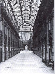 '800: Galleria Vittorio Emanuele appena completata