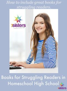 Books for Struggling Readers in Homeschool High School