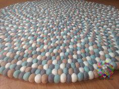 Kitchen Paper Towel, Felt Ball Rug, Rugs In Living Room, Handicraft, Art Pieces, Carpet, Nursery, Free Shipping, Handmade