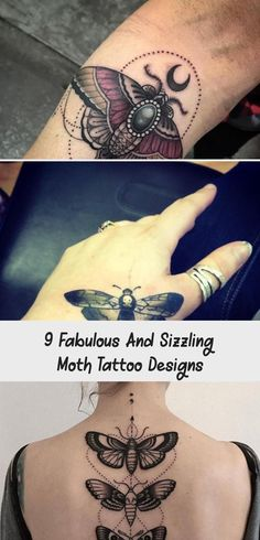 9 Fabulous And Sizzling Moth Tattoo Designs Moth Tattoo Design, Tattoo Designs Wrist, Tattoo Designs For Girls, Simple Tattoos For Women, Beautiful Tattoos, Dark Skin, Henna, Man Women, Men