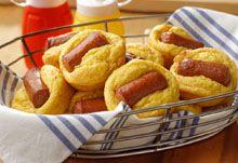 Cheddar Corn Dog Minis