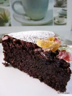Flourless Choco Hazelnut Cake