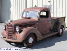 1939 Ford Pickup - 1939 Ford Pickup For Sale Classic 1939 Ford Truck Rare All Original and Hard to Find Ford 1939 Classic Pickup Restoration Project. Classic Pickup Trucks, Ford Pickup Trucks, Ford Pickup For Sale, Vintage Trucks, Pick Up, Touring, Antique Cars, Rat, Vehicles