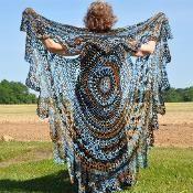Crochet Bohemian Vest Stevie Nicks Style -