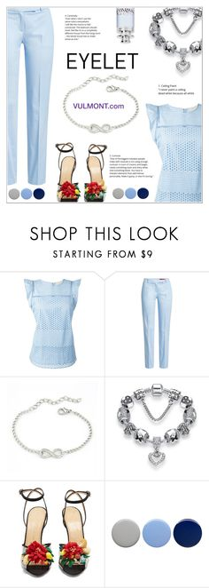 """Eyelet Fashion"" by shambala-379 ❤ liked on Polyvore featuring MICHAEL Michael Kors, HUGO, Charlotte Olympia, Burberry and Cartier"