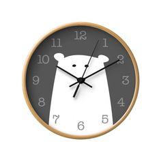 Items similar to Polar bear nursery wall clock Polar bear wall clock Polar bear clock Monochrome nursery black and white nursery decor monochrome kids room on Etsy Light Blue Nursery, White Nursery, Emily Thomas, Clock Painting, Monochrome Nursery, Clock For Kids, Bear Nursery, Bear Decor, Diy Clock