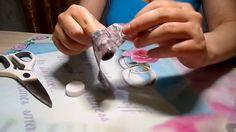 Gradient marble transferable foil sticker градиент мраморный переводной ...